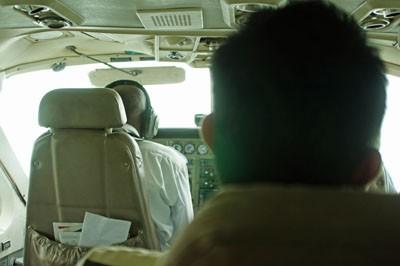 Flieger nach Sansibar
