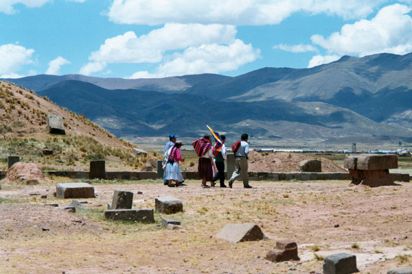 Indiginas in Bolivien