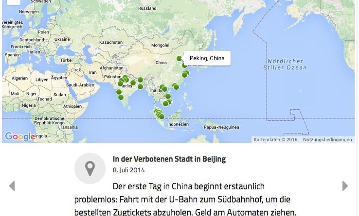 Asien-Übersicht