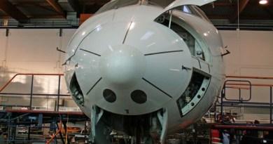 Bei der Flugzeugwartungs-Führung