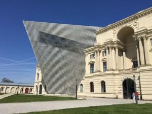Das militärhistorische Museum der Bundeswehr in Dresden
