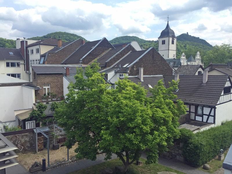 Blick von der Dachterrasse des Siebengebirgsmuseums