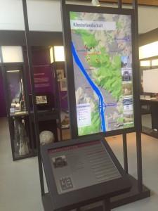 Multimediastation im Siebengebirgsmuseum