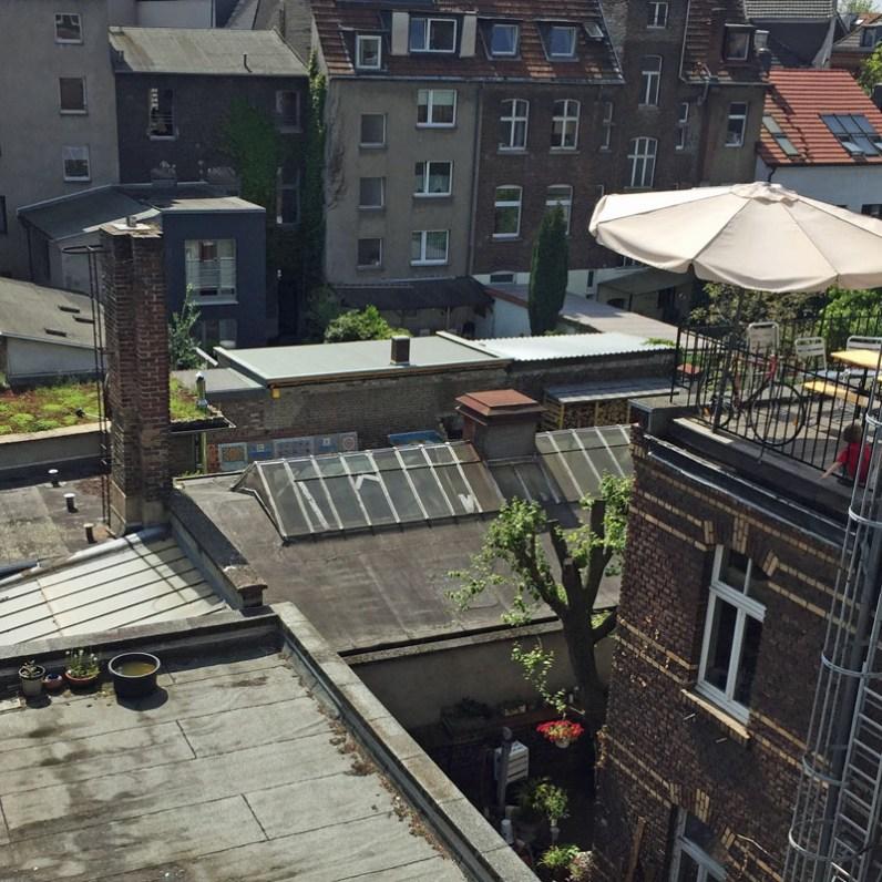 Über den Dächern von Ehrenfeld