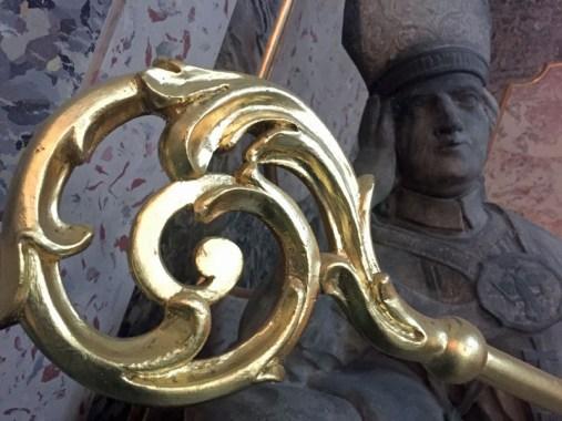 Statue in St. Pantaleon
