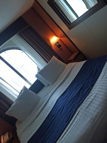 Kabine mit Fenster