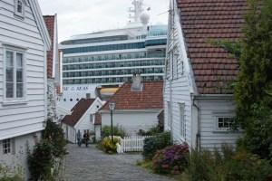 In der Altstadt von Stavanger