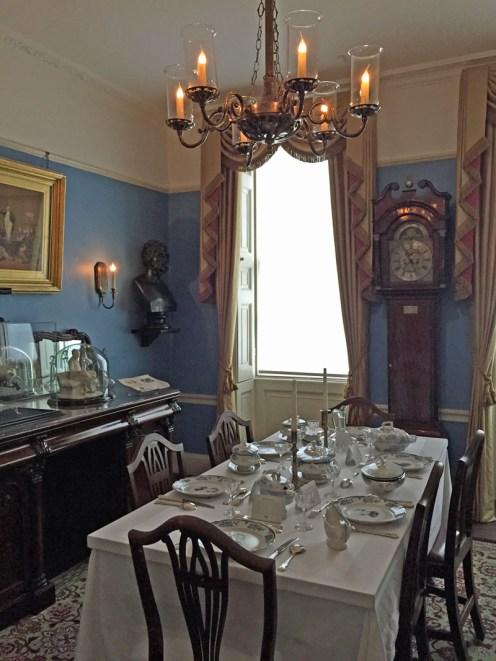 Charles Dickens' Esszimmer
