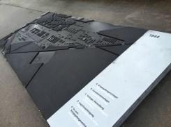 Modellansicht des Konzentrationslagers