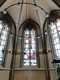 Abstrakte Kirchenfenster