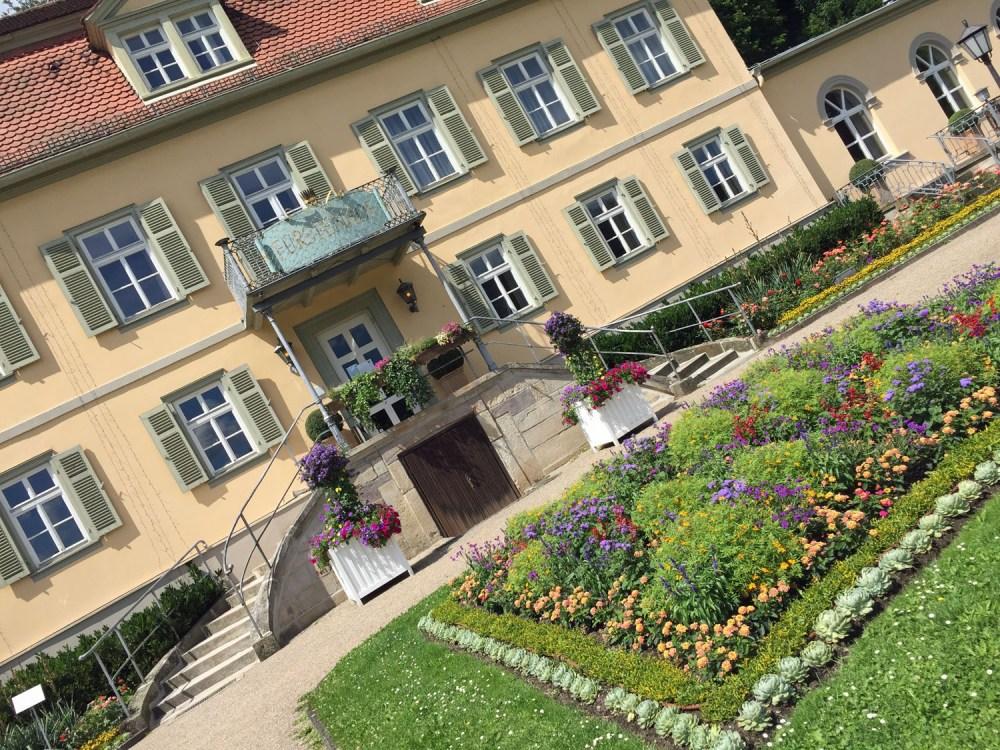 Der Fürstenhof im Staatsbad Bad Brückenau