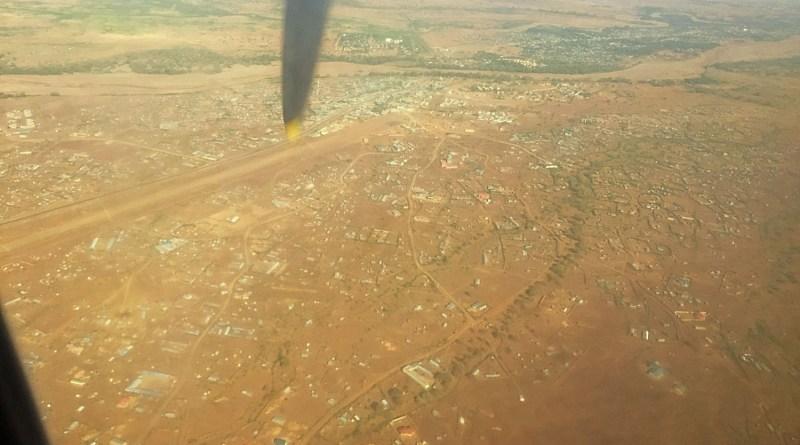 Im Anflug auf Kakuma