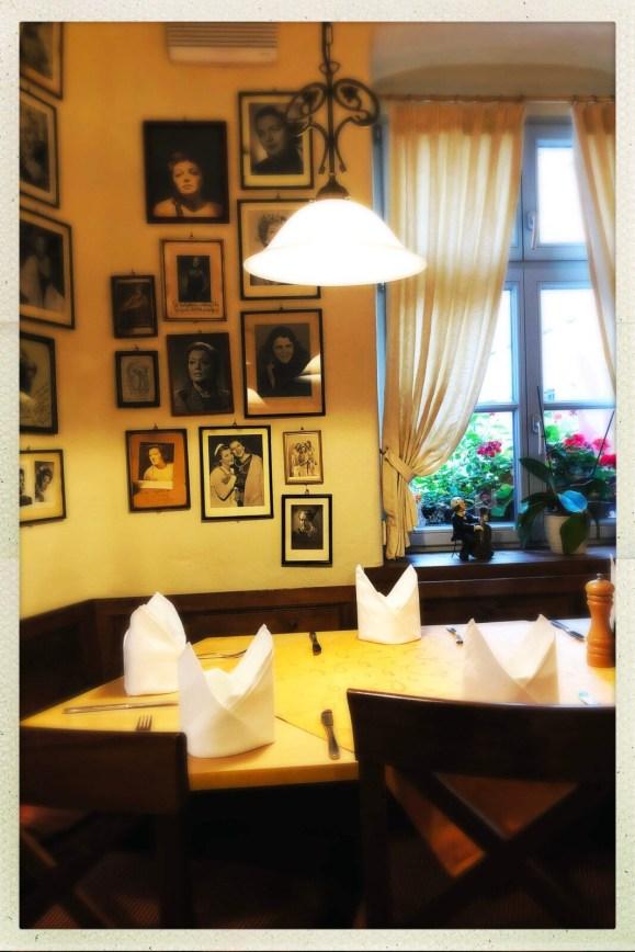 Im Restaurant Eule in Bayreuth
