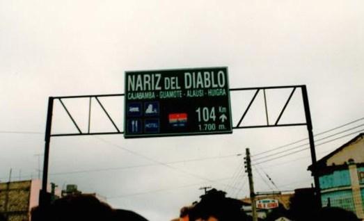 Nariz del Diablo: Teufelsnase