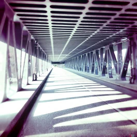 Brücke Richtung Hafencity