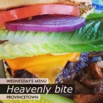 Hamburger in Provincetown, Massachusetts