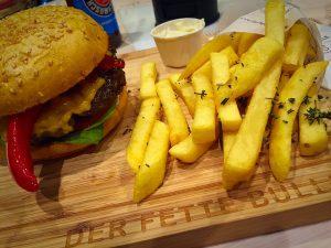 Burger in Frankfurt
