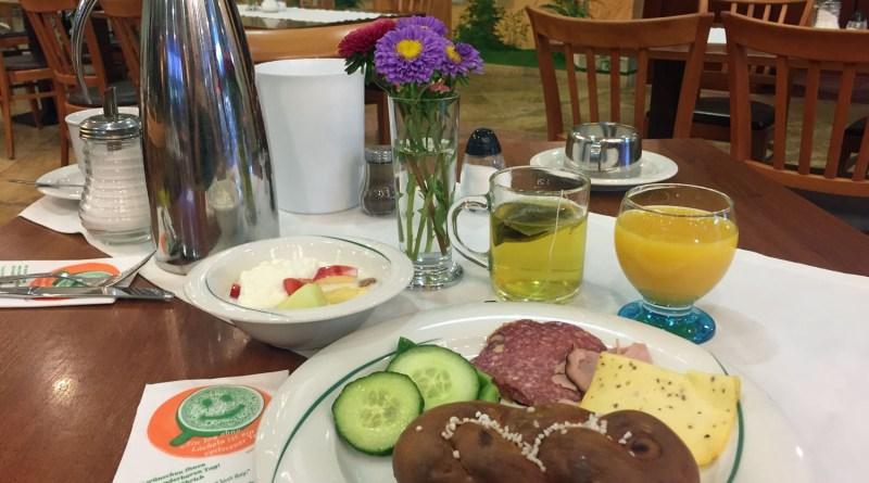 Frühstück im Hopfenhotel