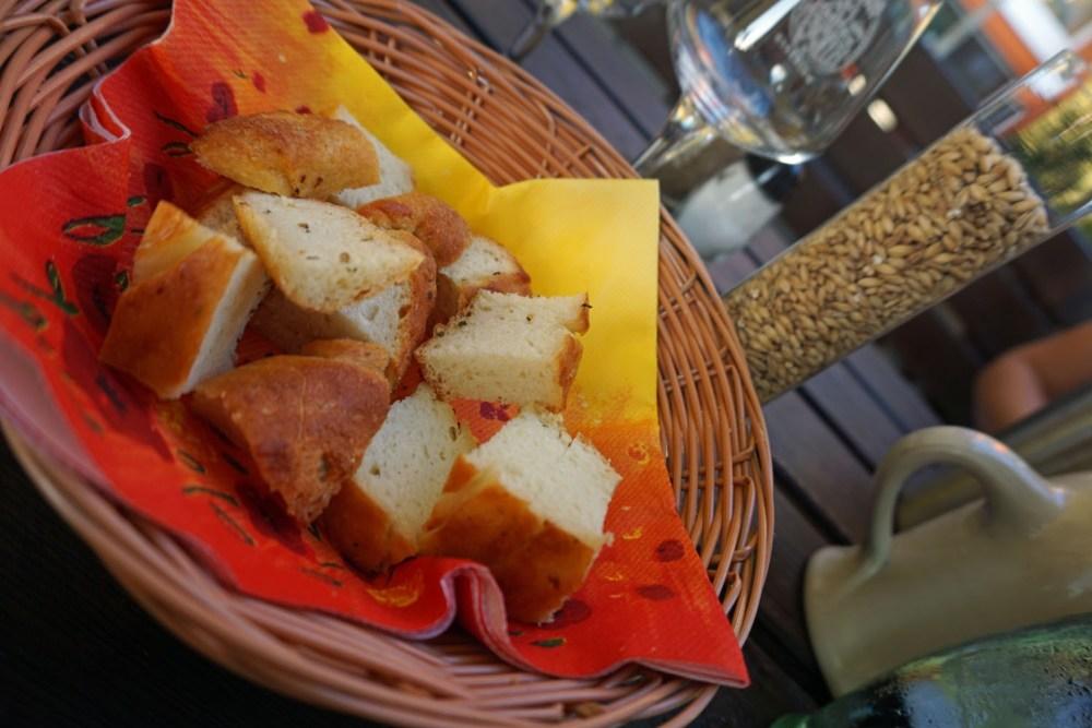 Kartoffelbrot und Malz