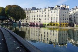 Paris am Canal Saint Martin
