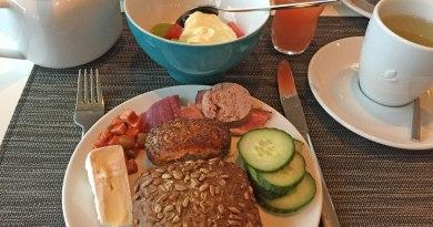 Frühstück auf Usedom