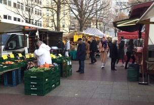 Auf dem Markt am Wittenbergplatz