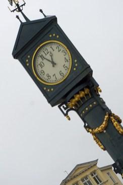 Denkmalgeschützte Uhr