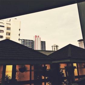 Viele Betonbauten