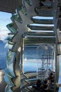 Lampe im Leuchtturm
