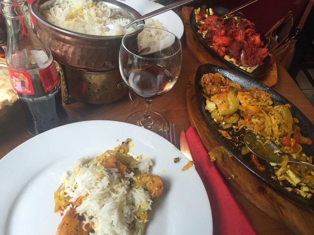 Indische Restaurants: Mittagstisch im Indian Masala