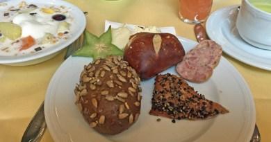 Frühstück in Radebeul