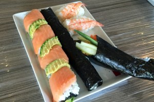 Sushi an Bord der Serenade of the Seas