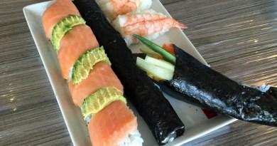 Fertiges Sushi