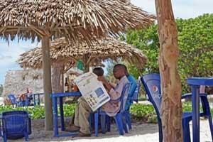 Eingewöhnungsphase in Tansania
