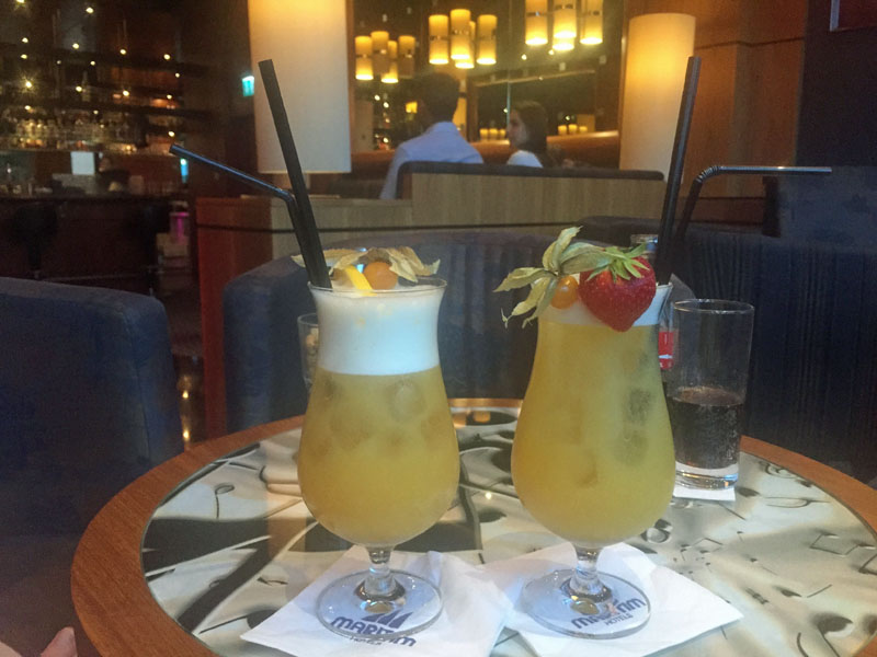 Cocktails im Maritim