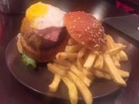 Mini-Burger in Lissabon