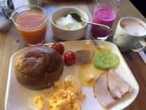 Frühstück in Rotterdam