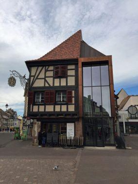 Alt und neu in Colmar