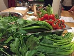Viel frisches Gemüse