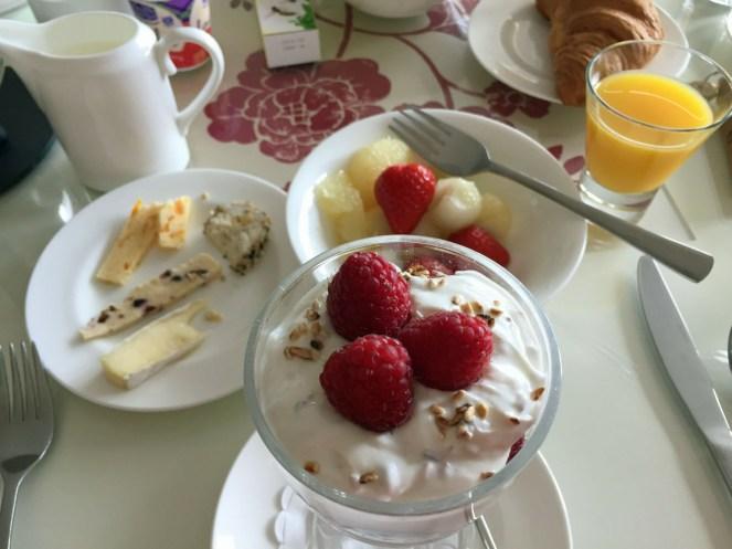 Größte Frühstücksauswahl bei der Reise: Fort William