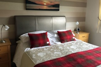 Unser Zimmer in Ullapool