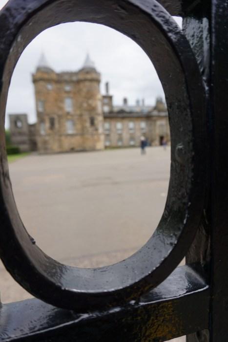 Hollyrood Palace in Edinburgh