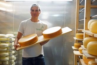 Fast fertig, der Käse