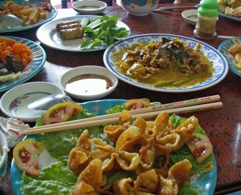 Schlange und Maus im Mekong-Delta