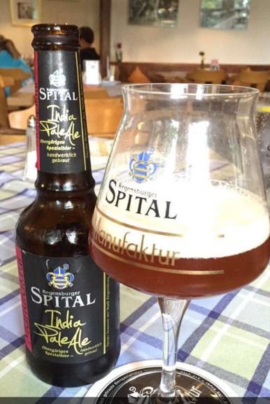 Bayrisches Bier aus der Spital Brauerei in Regensburg