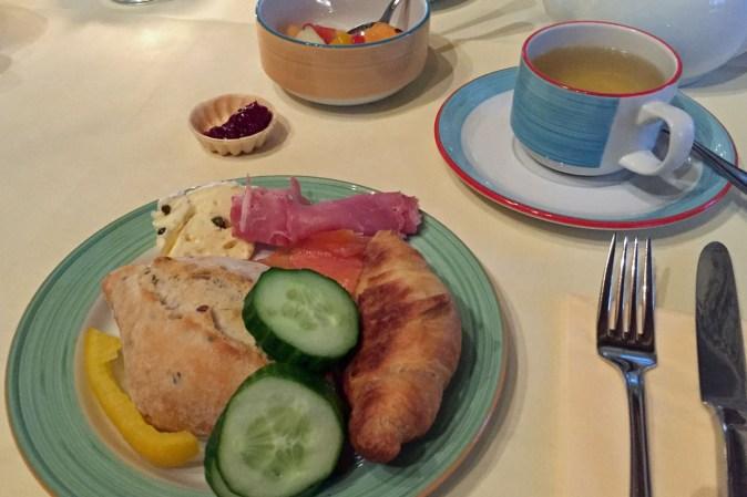 Frühstück im Hotel Arminius