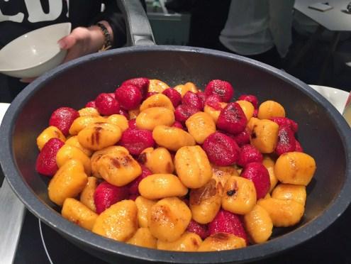 Gnocchi mit Süßkartoffeln und Roter Beete