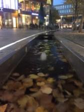 Wasserlauf in der Fußgängerzone