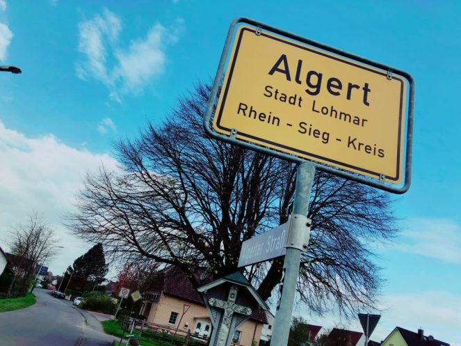 Algert gehört zu Lohmar