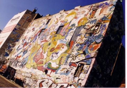 1996: das Tacheles in Berlin